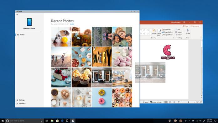 Your Phone di Microsoft darà accesso ai file Android da PC