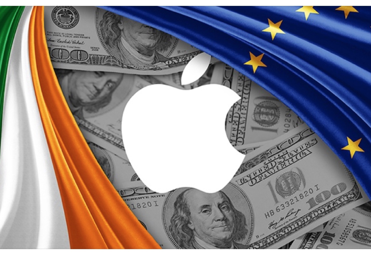 Apple ha versato 9 miliardi di euro in tasse arretrate all'Irlanda