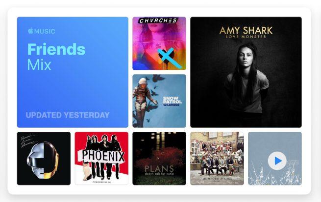 """Apple Music lancia il nuovo """"Friends Mix"""" settimanale nella sezione Per Te"""