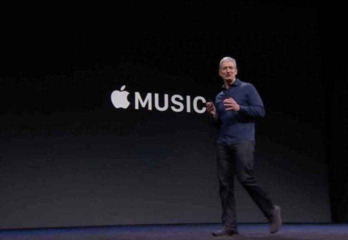 Tim Cook Apple Music