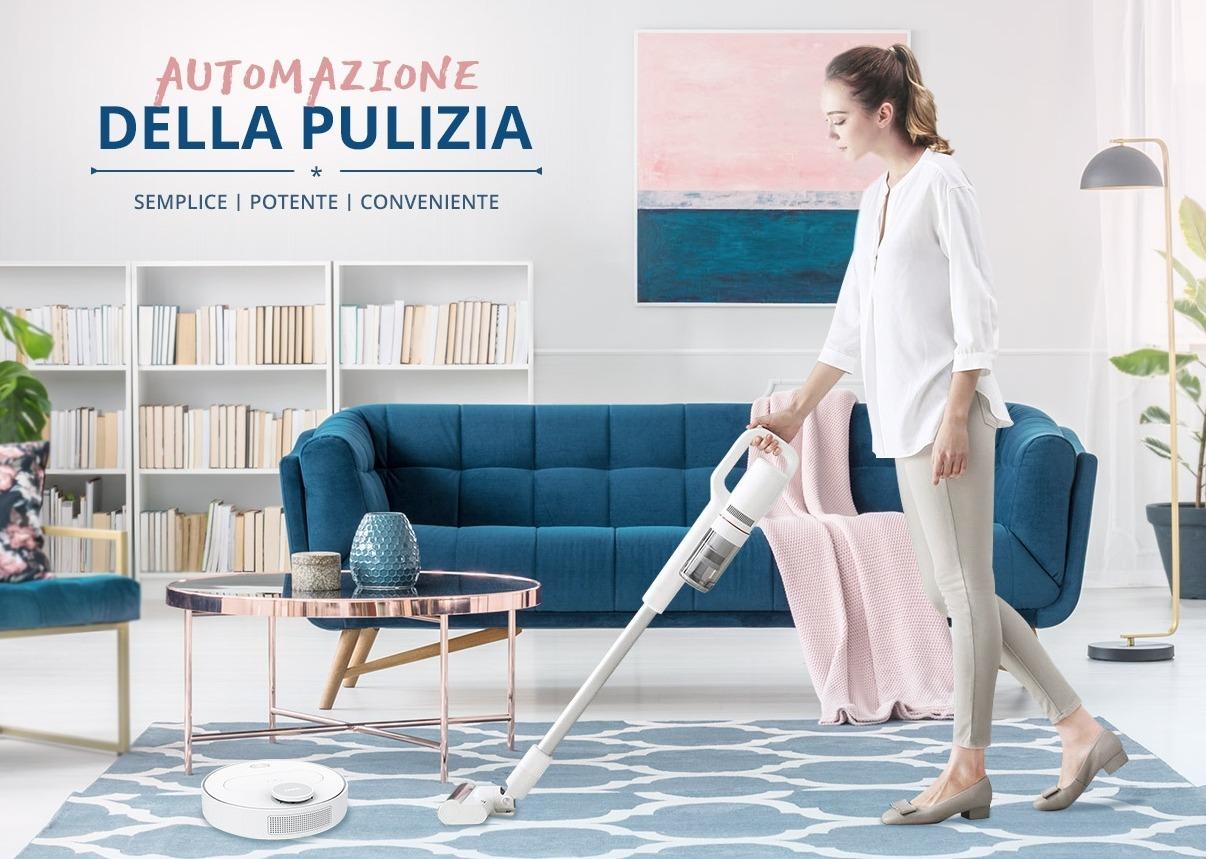 Tutto il meglio dell'automazione per la pulizia di casa con sconti fino al 50%