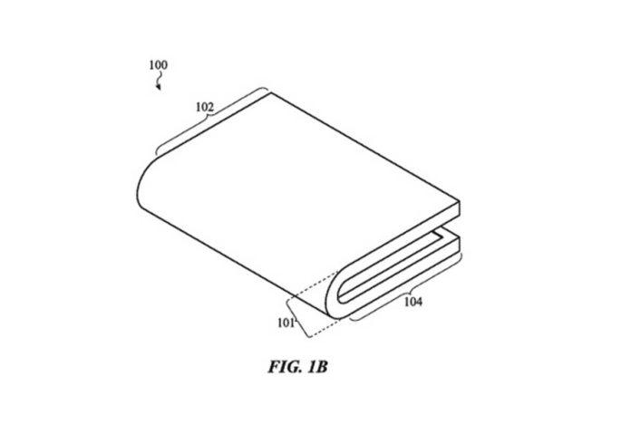 Brevetto dispositivo ieghevole Apple