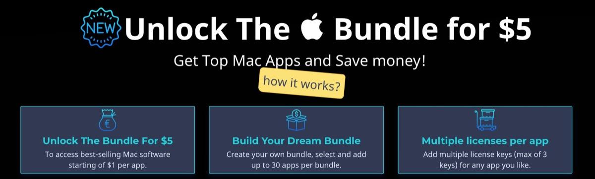 Tutti i programmi per Mac che volete, su BundleHunt a partire da 1 dollaro