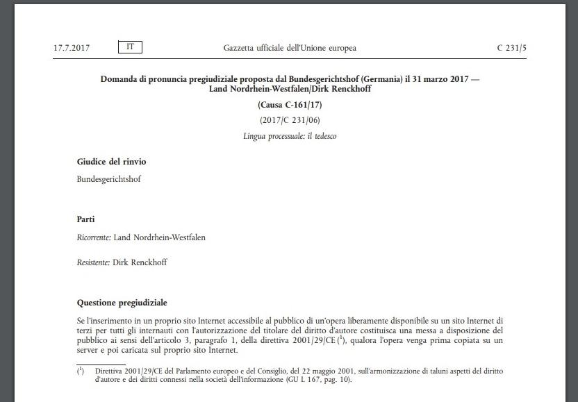Sentenza UE: le foto pubblicate online non possono essere usate senza permesso