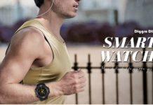Diggro DI10, orologio smart sportivo per iOS e Android, IP68 a soli 17 euro