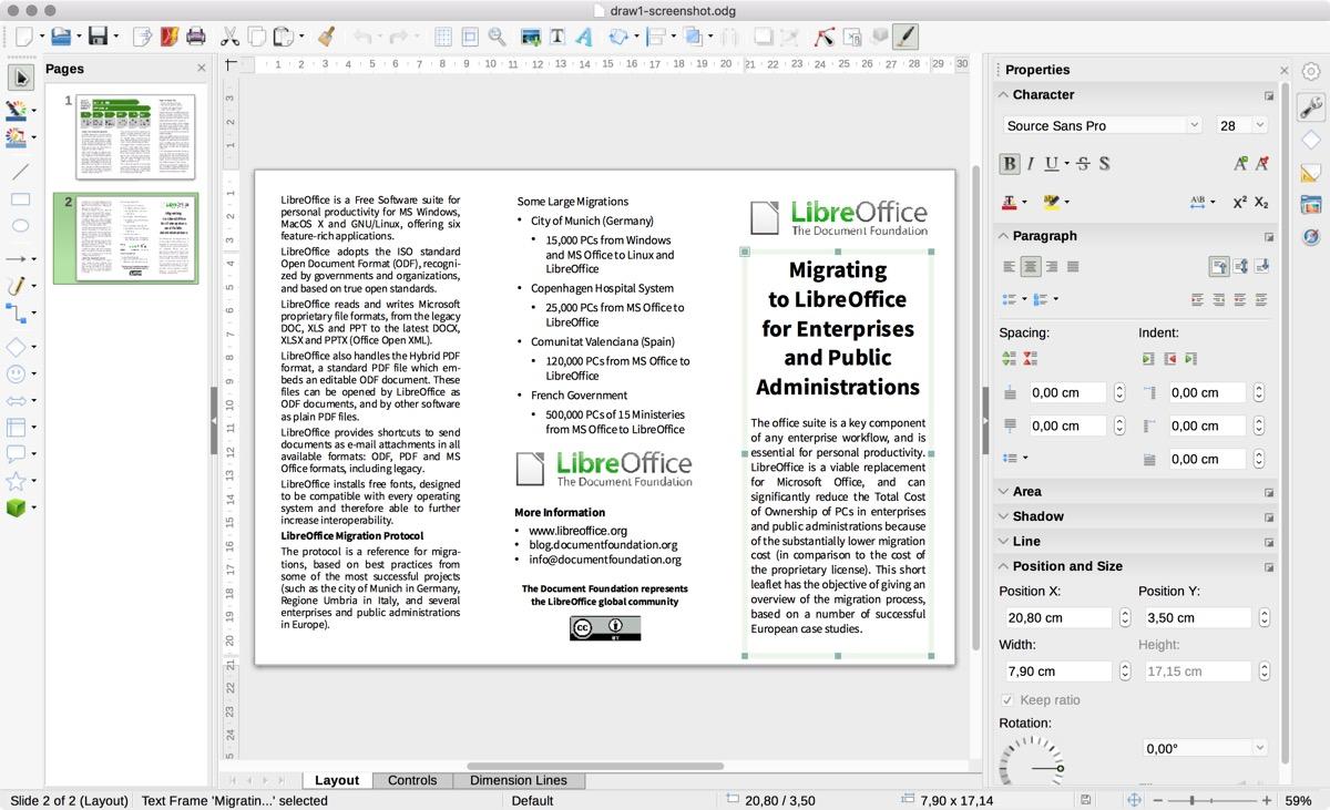 LibreOffice 6 1, il pacchetto office gratuito per Mac e