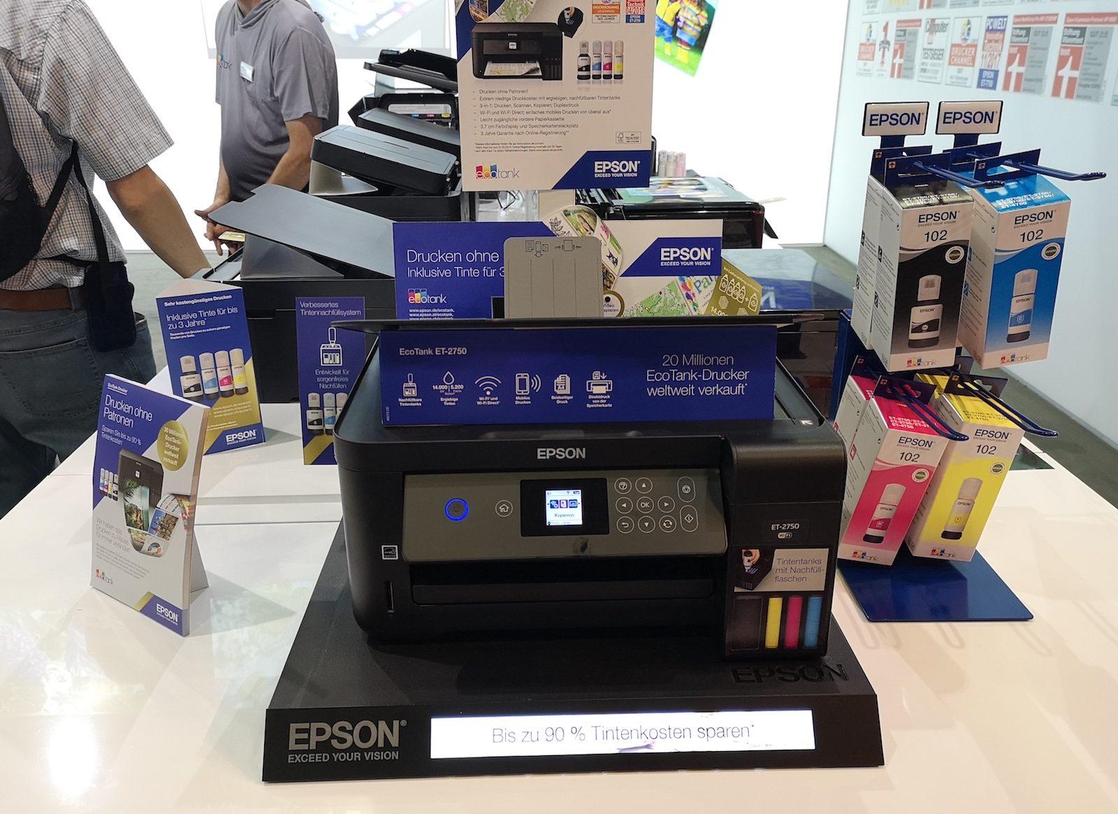 IFA 2018: videoproiettori, stampanti e le soluzioni di realtà aumenta di Epson