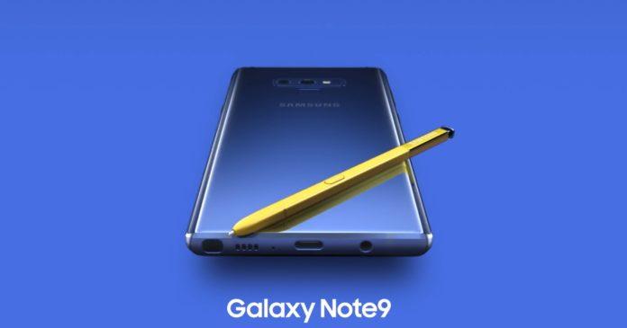 Samsung sbadata, ecco Galaxy Note 9 nel video ufficiale
