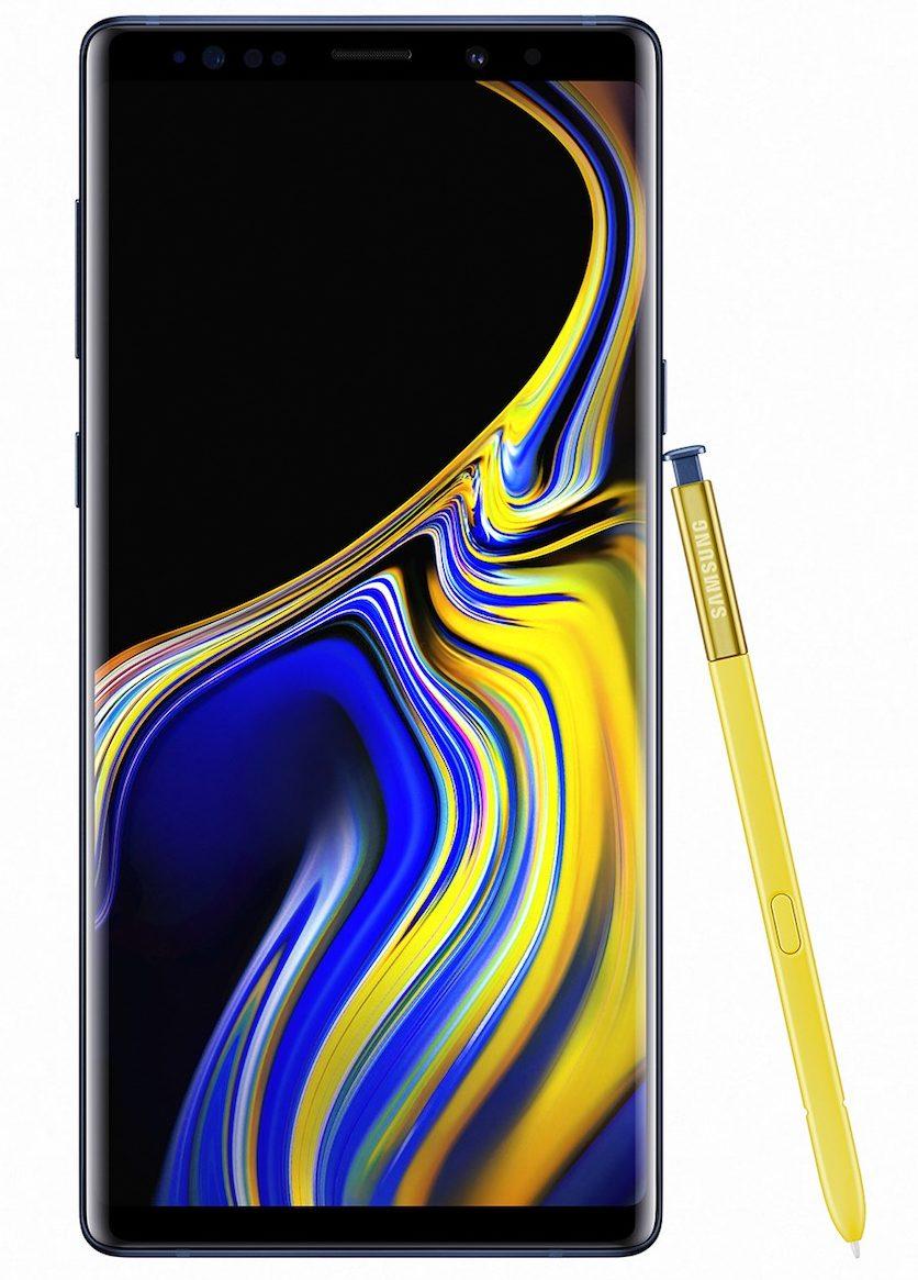 Samsung presenta Galaxy Note 9 con super batteria, S-Pen migliorata e fotocamera intelligente