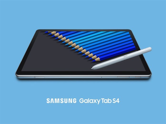 Galaxy Tab S4 è il nuovo tablet Samsung che sfida iPad Pro di Apple