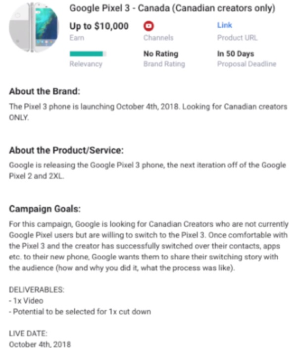 Google Pixel 3 attesi il 4 ottobre