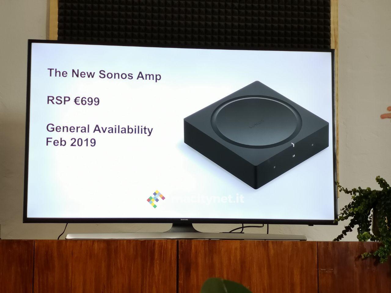 IFA 2018: ecco Sonos Amp