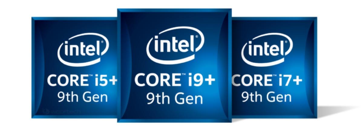 Intel Core 9ª generazione, foto mockup grafica e logo dei primi processori attesi a ottobre