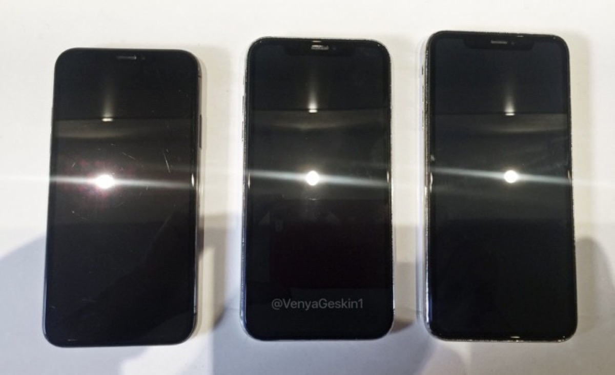 In foto il mockup di iPhone X da 5.8'', ora il terzetto è al completo