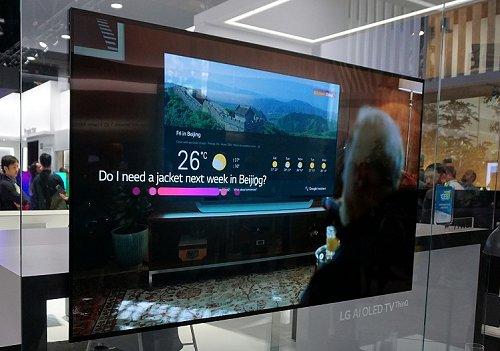 L'assistente Google arriva sui TV LG con AI ThinQ