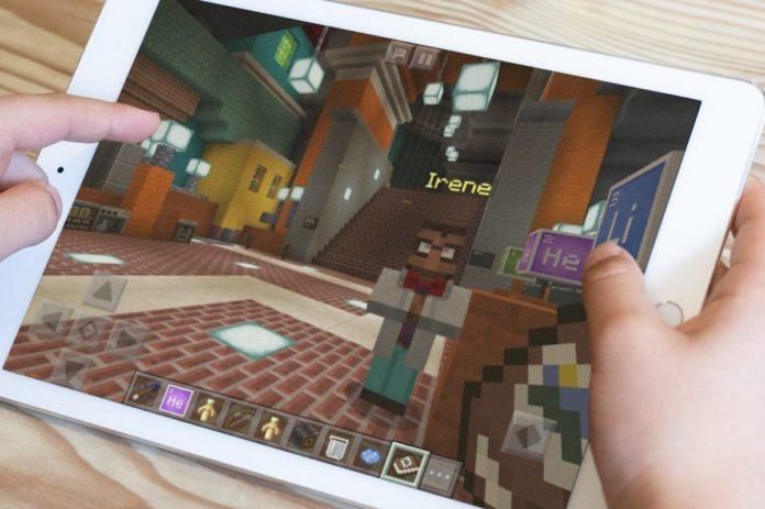 Minecraft Education Edition su iPad a settembre