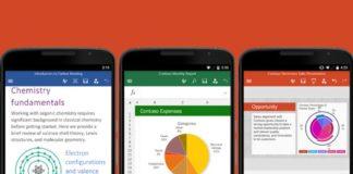 Microsoft ha svelato le novità di Office per iOS e Android
