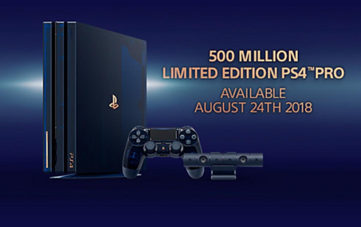 PlayStation 4 Pro Limited Edition 2 TB è un oggetto del desiderio