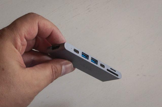 QacQoc GN28K, recensione dell'HUB USB-C che scompare
