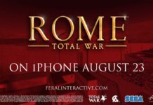 ROME: Total War è finalmente disponibile su iPhone