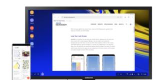 Galaxy Note 9 elimina il dock dalla modalità desktop DeX