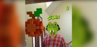 Il gioco Snake di Nokia ora si gioca in realtà aumentata su Facebook