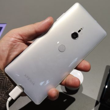 A IFA 2018 Sony svela Xperia XZ3, lo smartphone con uno display da TV