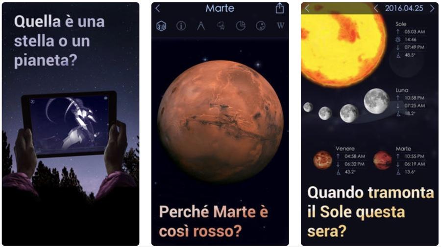 Notte di San Lorenzo, le app per scrutare il cielo e cercare le stelle cadenti