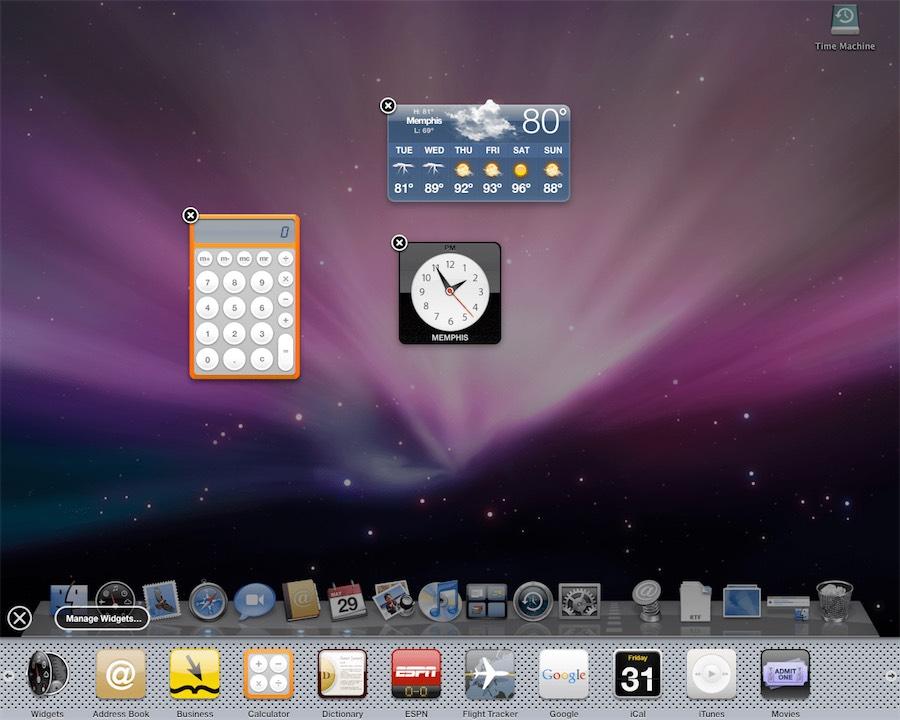 La storia di OS X nella raccolta di oltre 1.500 schermate dal 2000 a oggi