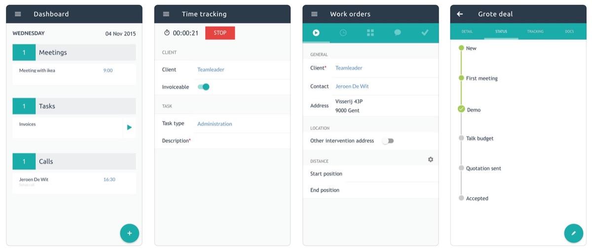 Teamleader, l'app per gestire l'azienda anche sotto l'ombrellone