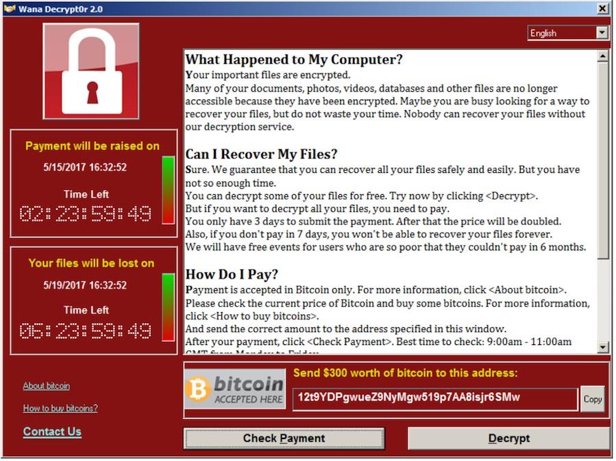 tsmc virus foto stop alla produzione causato da un virus Windows wannacry