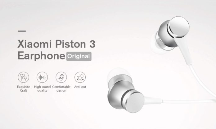Cuffie Xiaomi Piston Fresh bianche
