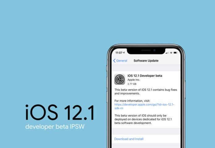 Agli sviluppatori la prima beta di iOS 12.1, watchOS 5.1 e tvOS 12.1