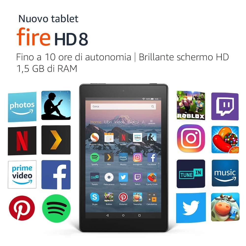 Il nuovo Fire HD 8 è disponibile su Amazon a partire da 99,99 euro