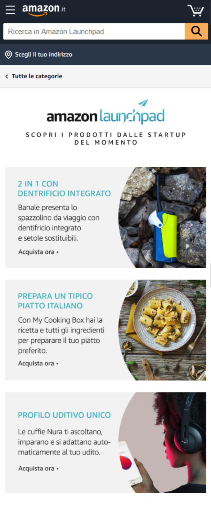 Con Amazon Launchpad le startup italiane vendono prodotti innovativi nel mondo
