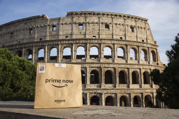Amazon Prime Now a Roma