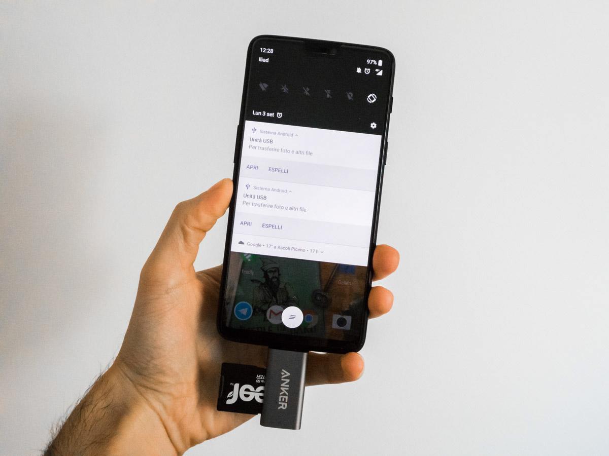Recensione Anker A8370, il lettore di schede SD e microSD per dispositivi USB-C