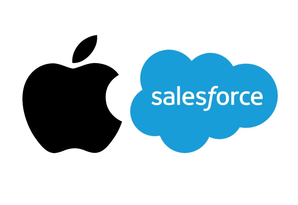 Apple e Salesforce collaborano per funzioni esclusive su iPhone e iPad