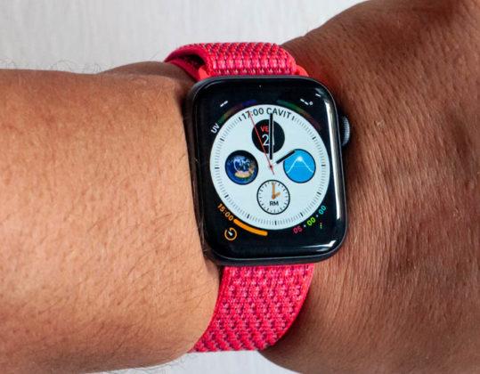 recensione di apple watch 4
