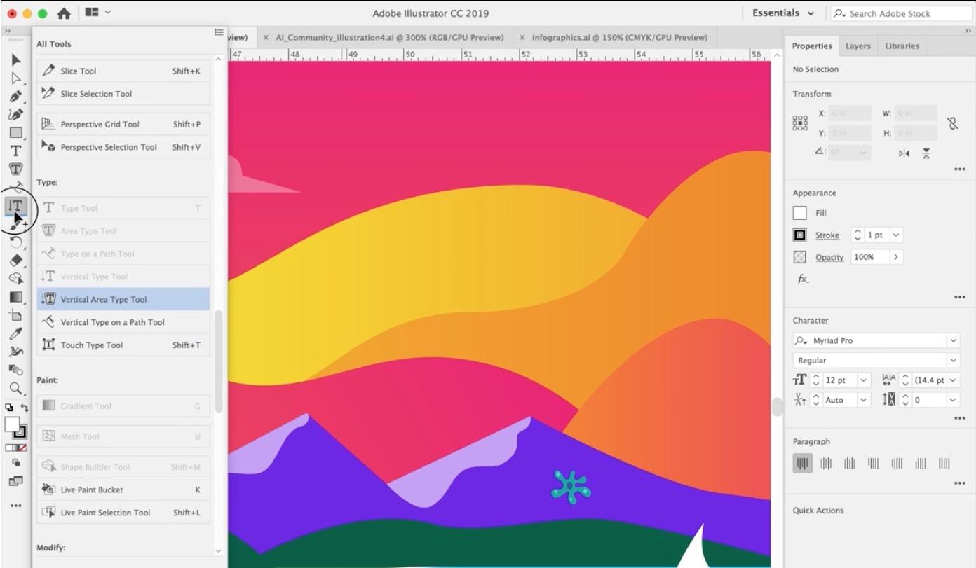 La barra strumenti di Adobe Illustrator sarà personalizzabile