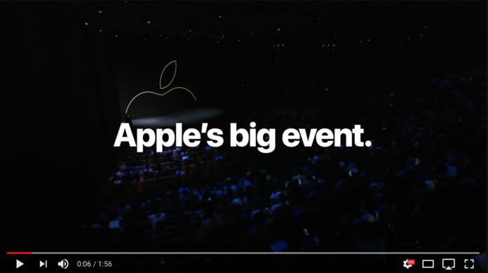 L'evento Apple in 108 secondi