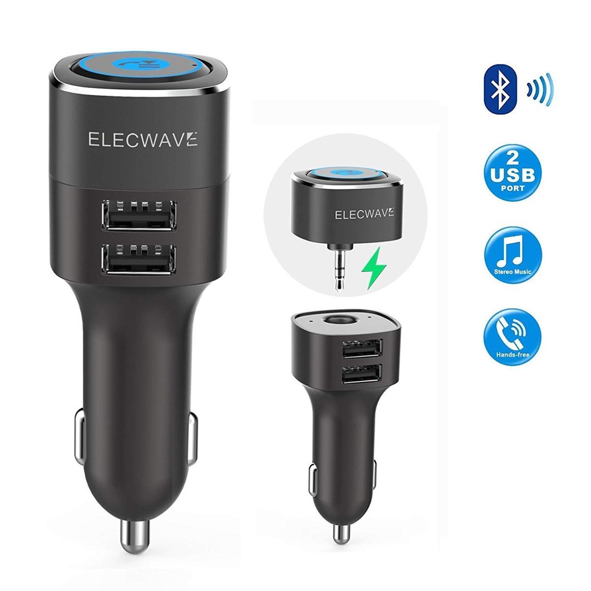 Caricatore USB per auto con ricevitore AUX Bluetooth in sconto a 10,18 euro