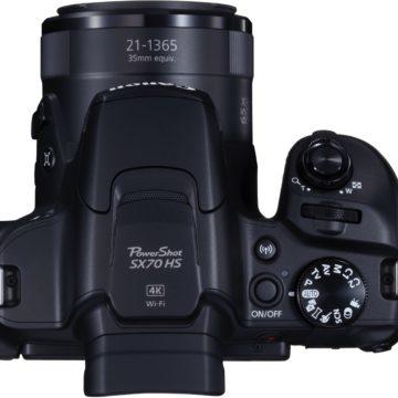Canon PowerShot SX70 HS: arriva la bridge reflex con super zoom ottico 65x