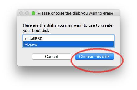Scegli il disco