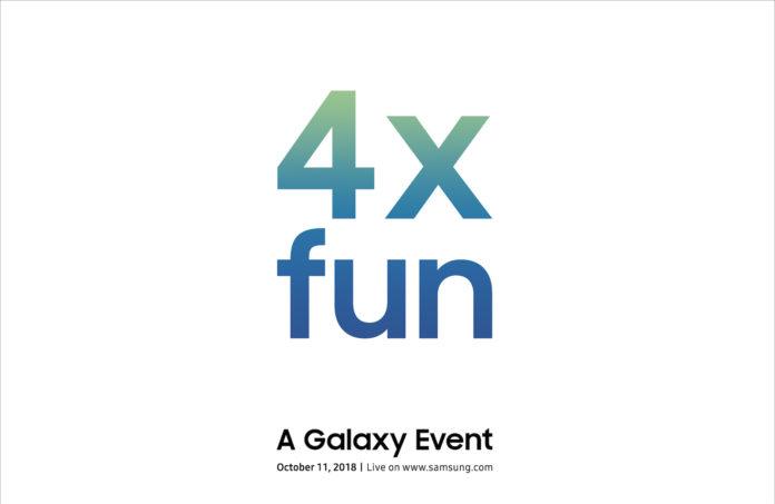 """Samsung prepara l'evento """"4x fun"""" per l'11 ottobre"""
