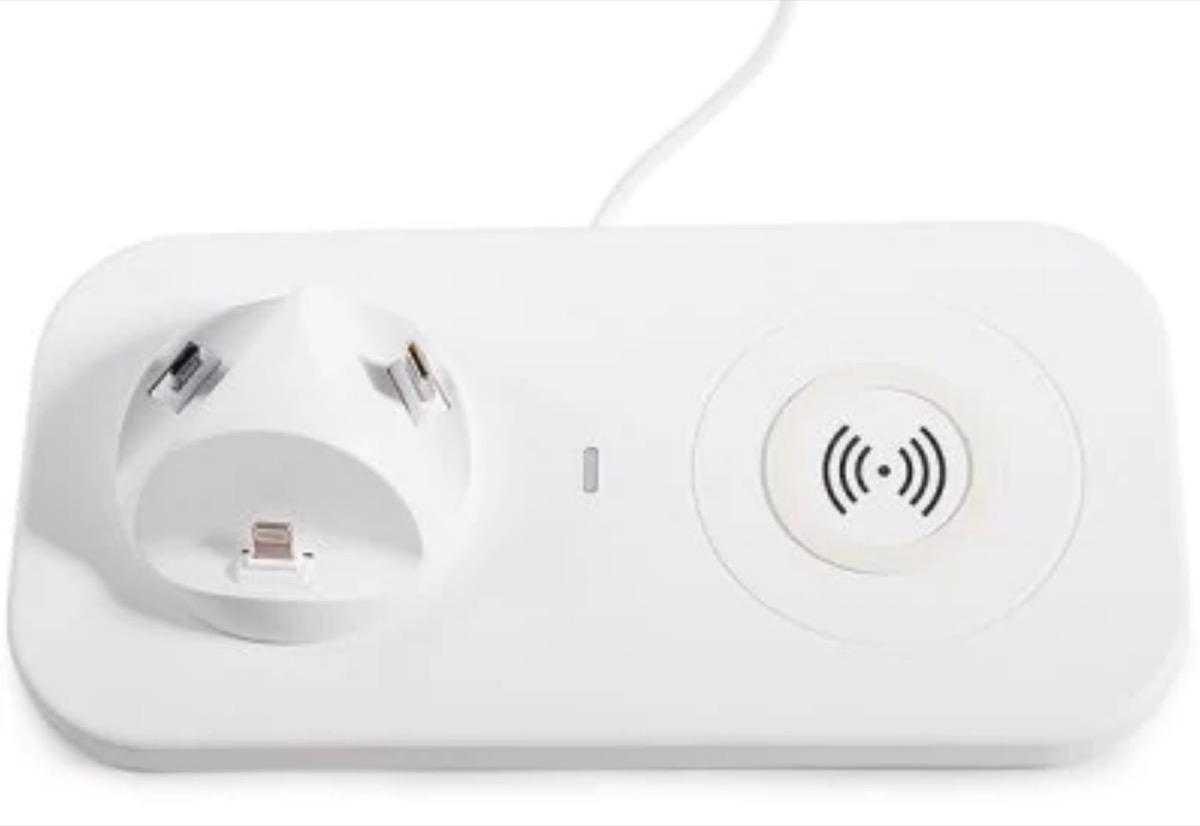 Caricatore universale per smartphone, wireless e con filo: solo 11 euro