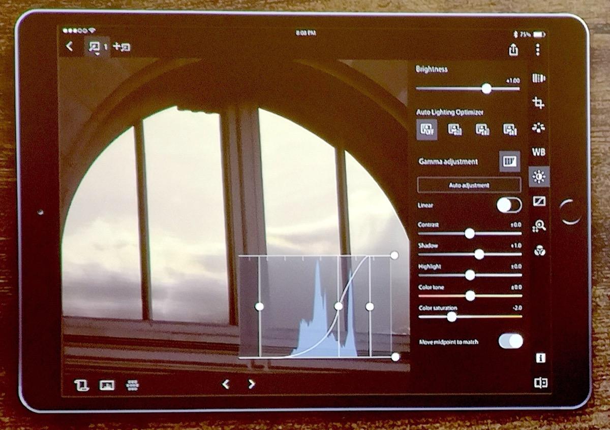Canon DPP Express, l'app per lo sviluppo dei RAW su iPad