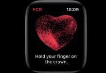 elettrocardiogramma su apple watch 4