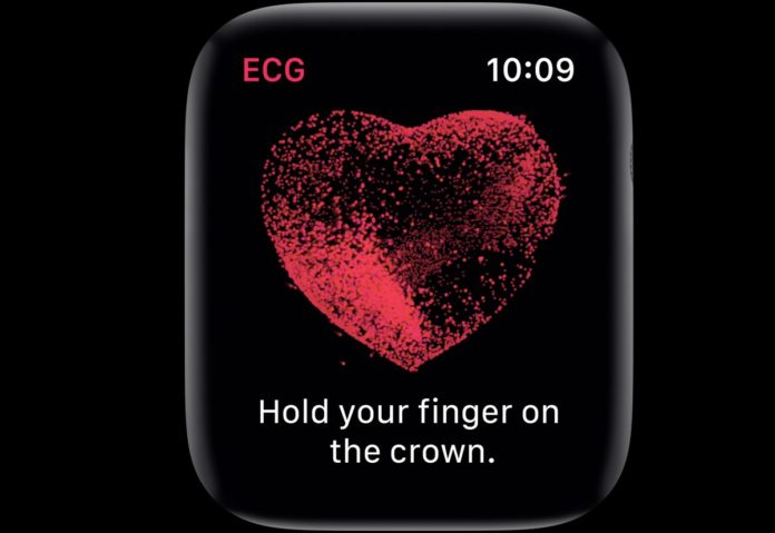 elettrocardiogramma su apple watch 4
