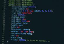 Esempio codice